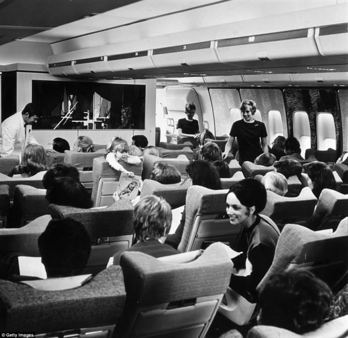 Glamorous air travel 10