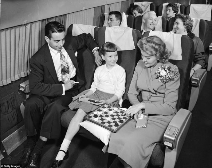 Glamorous air travel 4