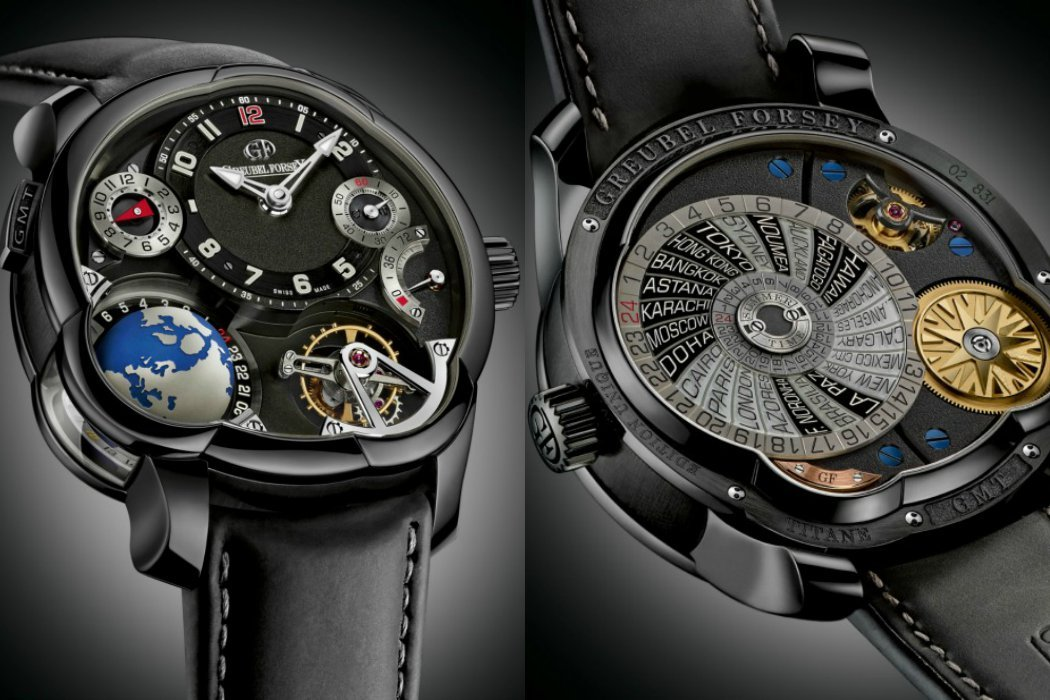 Greubel-Forsey-GMT collage