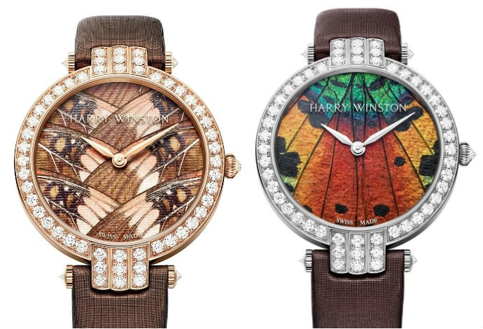 Harry Winston watch collage 1
