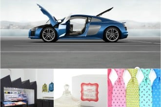 Luxury launches startup collage