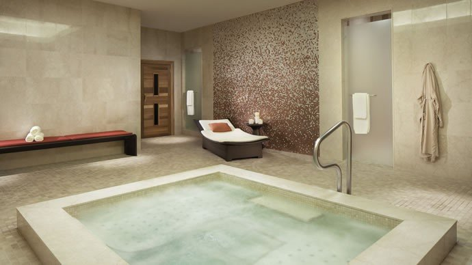 Relaxation Lounge at the spa