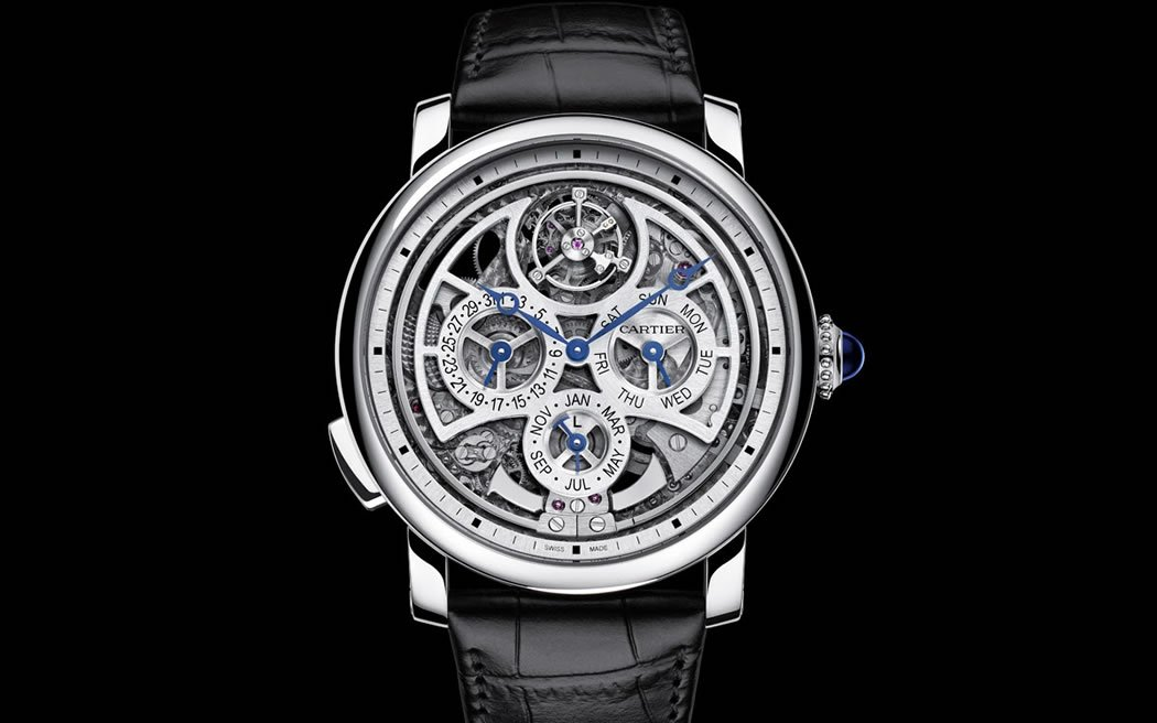 Rotonde de Cartier Skeleton