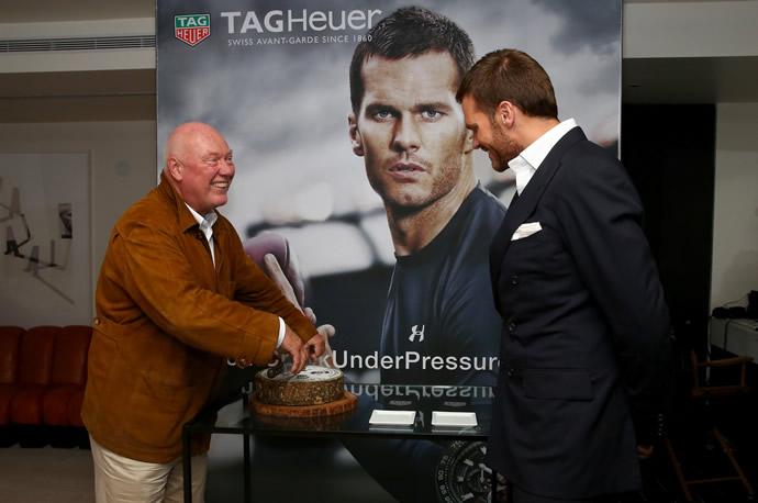 Star quarterback Tom Brady joins the Tag Heuer family -