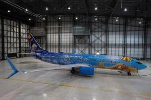 WestJet-Frozen-plane 1