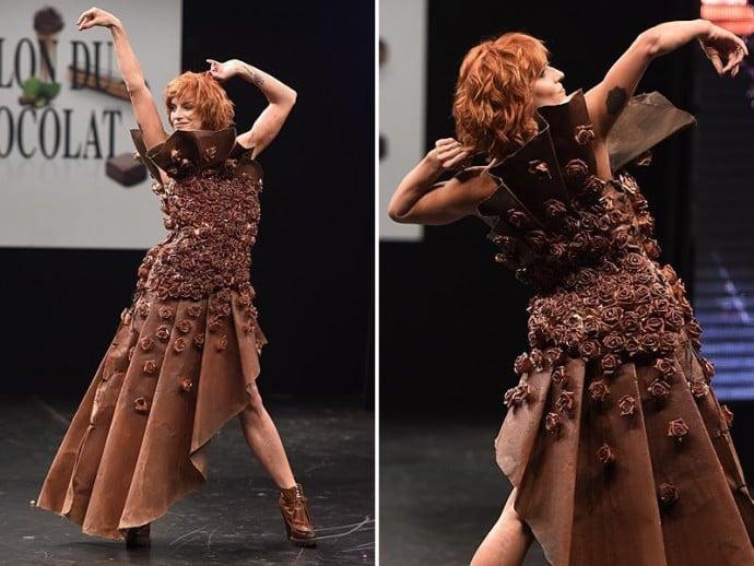 chocolate dress 1