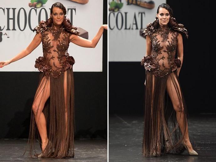 chocolate dress 2