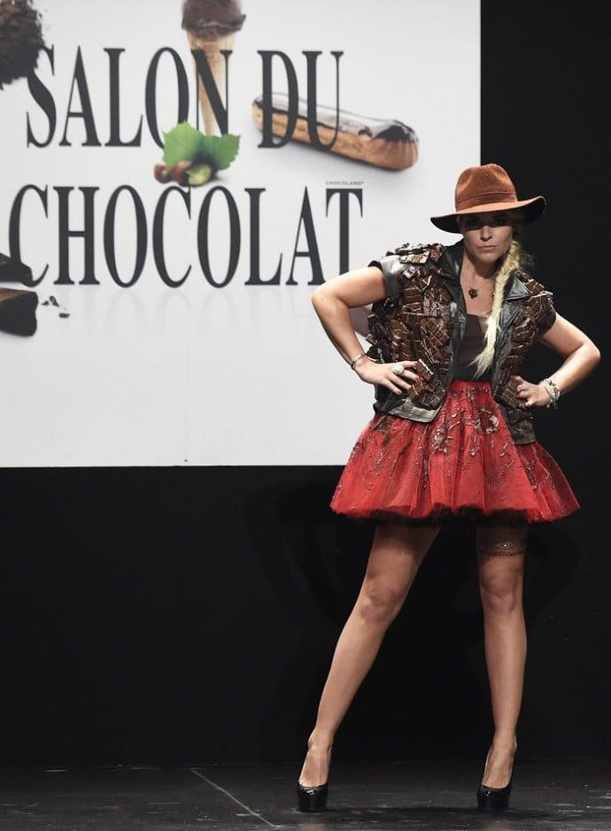 chocolate dress 5