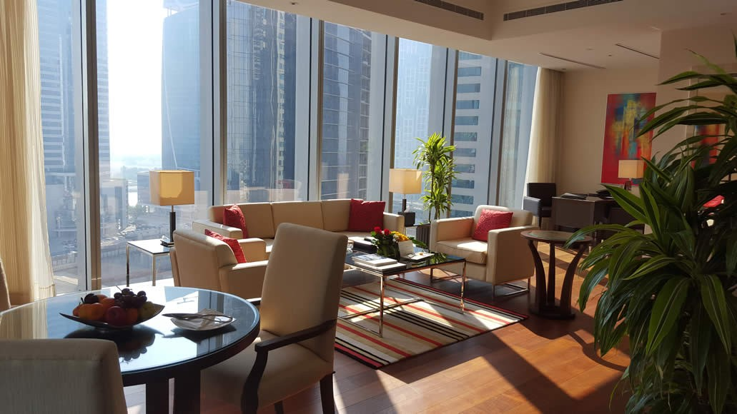 Enjoy the sunny side of Dubai, indoors! The suites are blessed with plenty of natural lighting allowing you to score in Vit D without having to step out into the sun or roast on the pool deck during the harsh summer months.