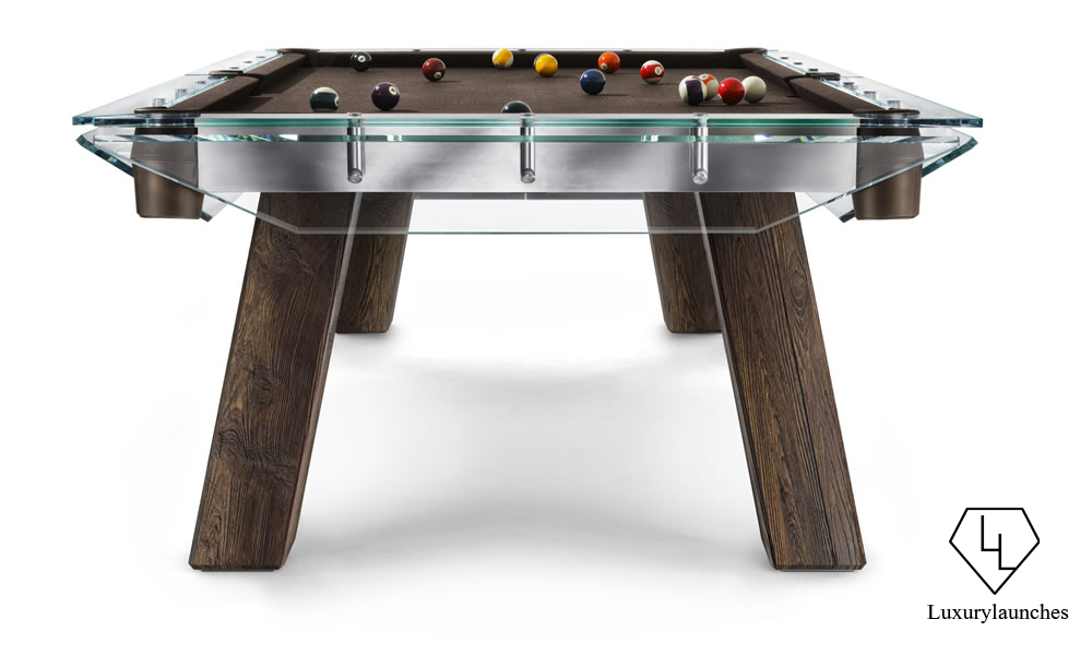 A Pool Table That Is Even Too Cool For Mr Christian Grey - Modern slate pool table