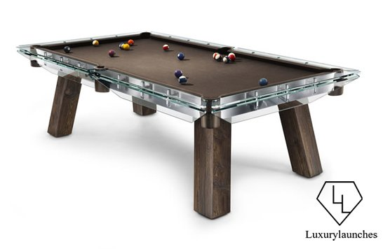A pool table that is even too cool for Mr. Christian Grey : Luxurylaunches