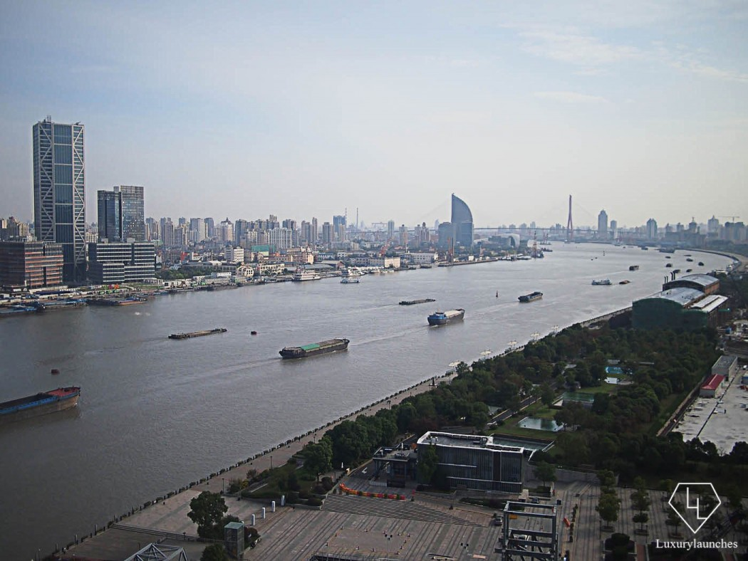 View of Huang Pu River from Bedroom