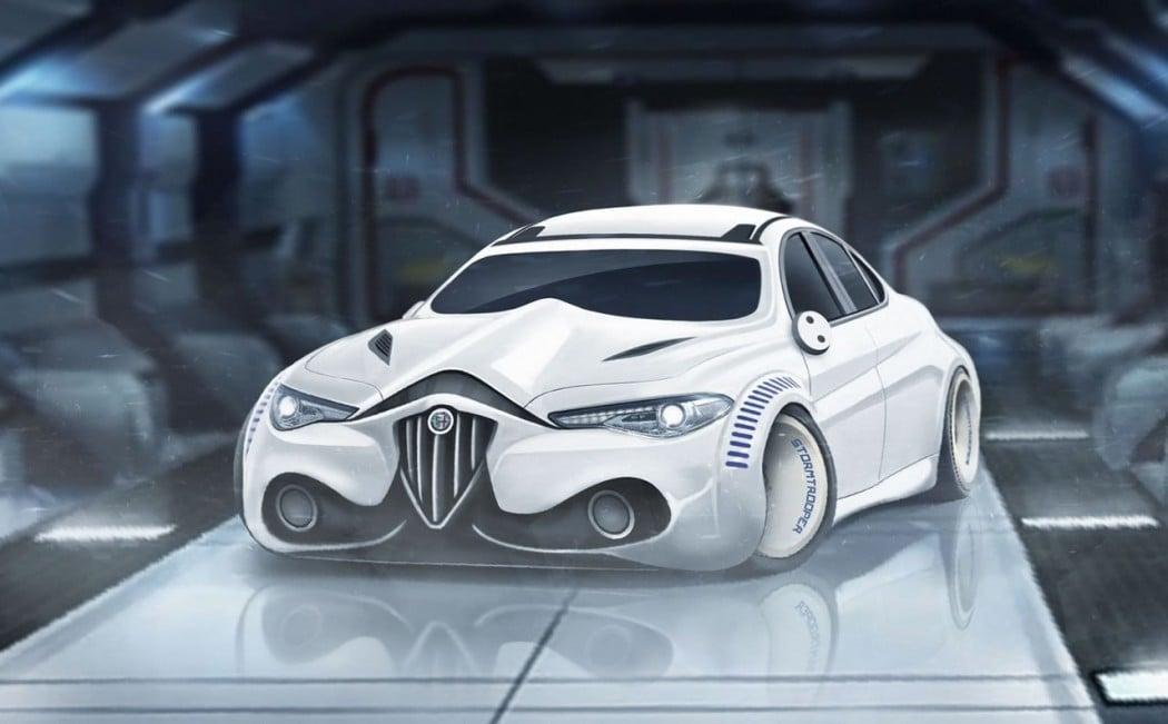 Alfa Romeo Giulia Stormtrooper Edition.