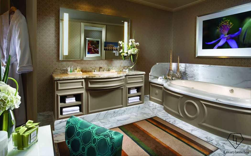 Bellagio - Spa Tower - Penthouse Suite - Bathroom