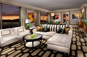 Bellagio - Spa Tower - Penthouse Suite - Living Room