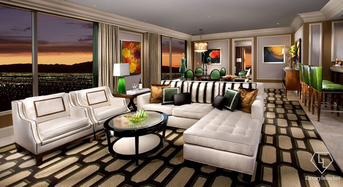 trick i one a time two suites up at how suite the las vegas delano mile screwed bedroom