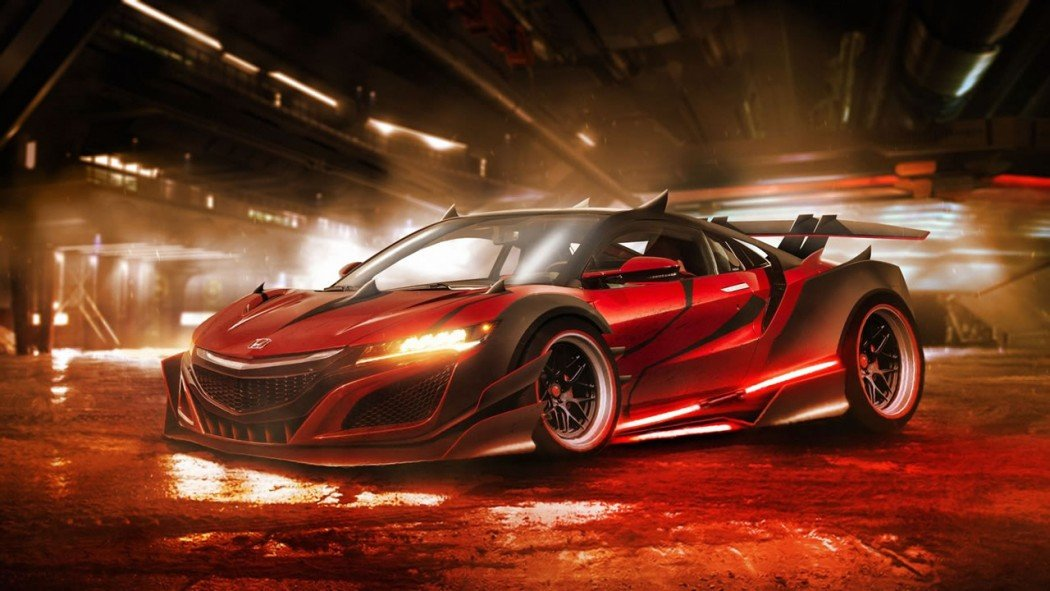 Darth Maul's Honda NSX.