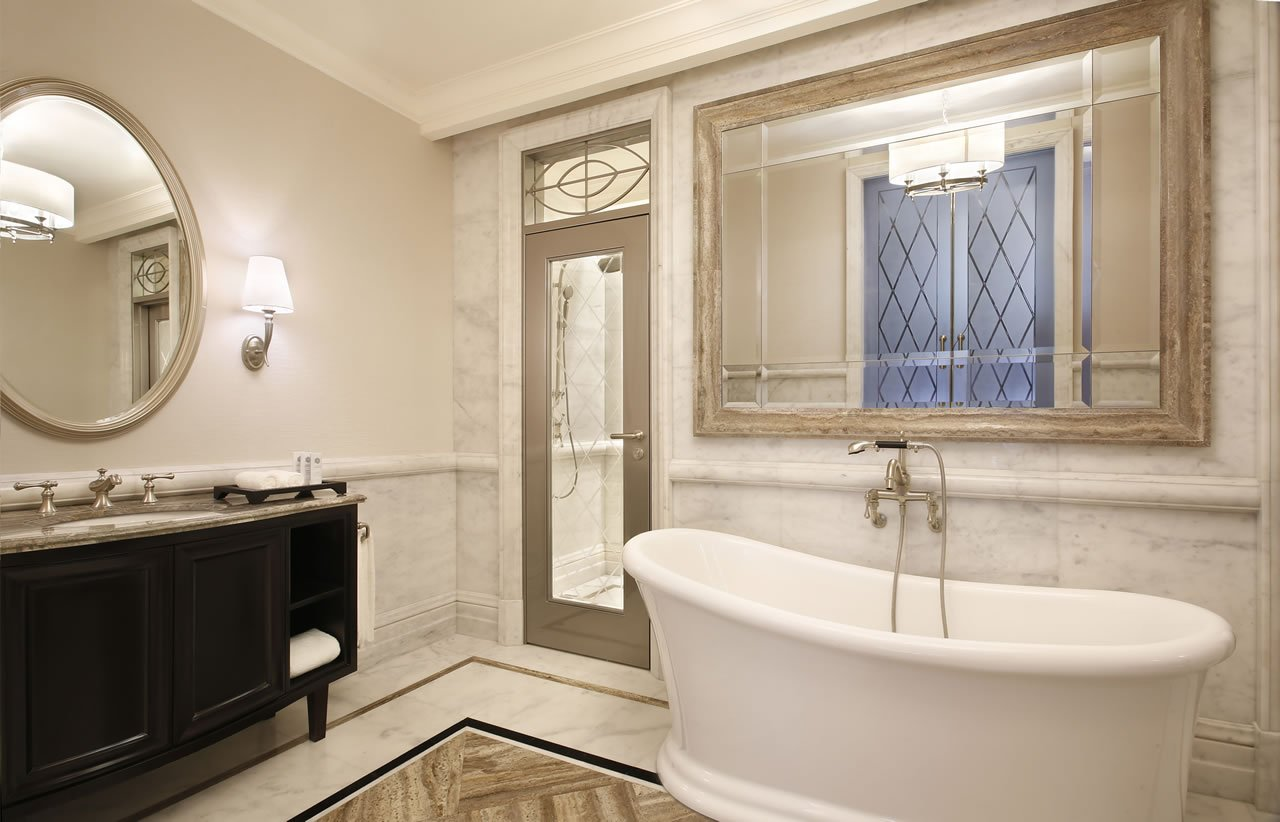 The st regis dubai has arrived Empire bathrooms