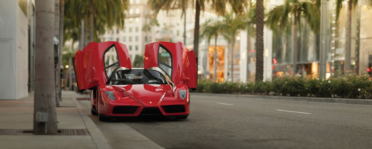 Car Transport Reviews >> Floyd Mayweather's Ferrari Enzo may kick a $3 million punch at Sotheby's next month