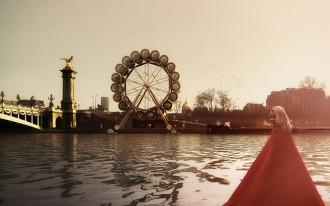 Giant wheel hotel Paris 1