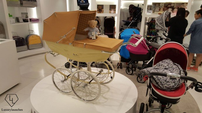 Aston Martin prams for junior - You can get one at Asia's first standalone Silvercross store.