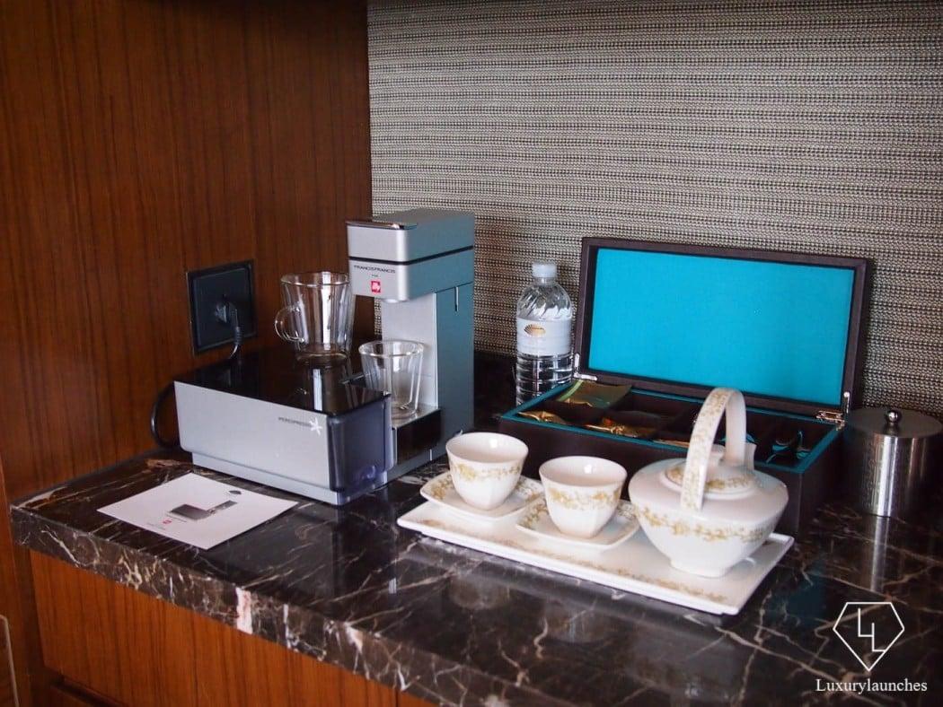 In room beverage station