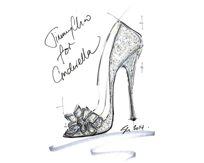 Jimmy-Choo-CINDERELLA-sketch