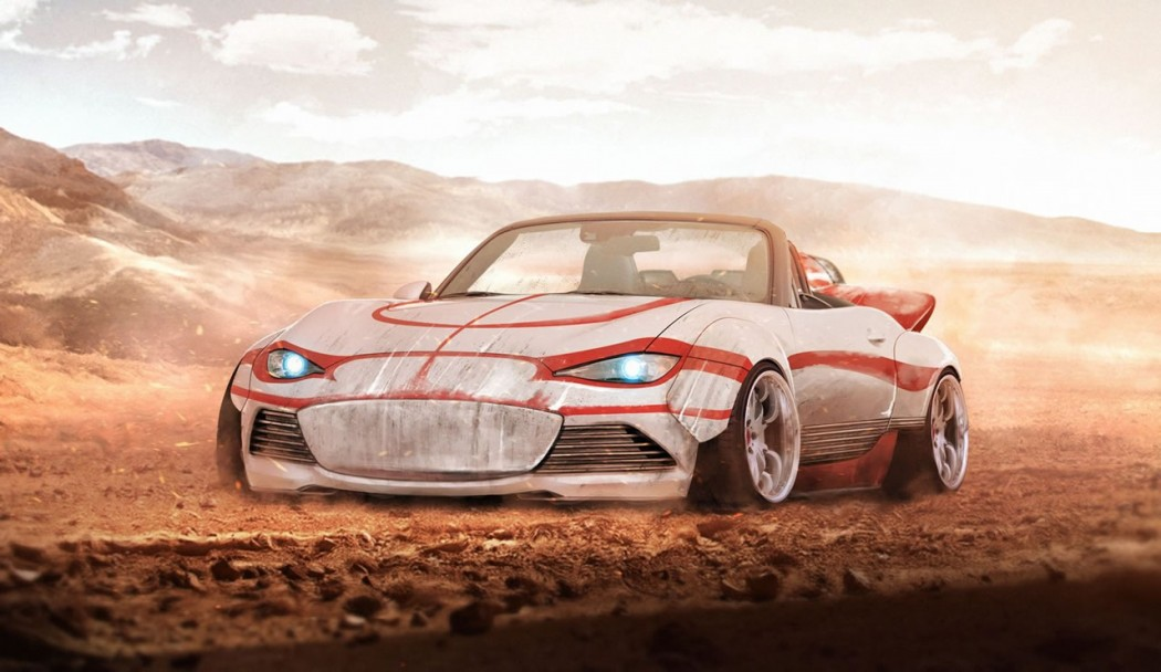 Luke Skywalker's Mazda MX-5.