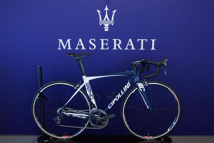 Most Expensive Car Brands >> This Maserati Cipollini BOND road bike worth over $6500 is ...