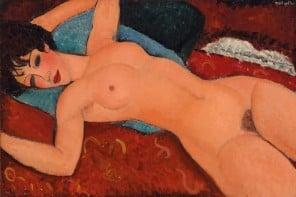 Modiglianis-Nu Couché