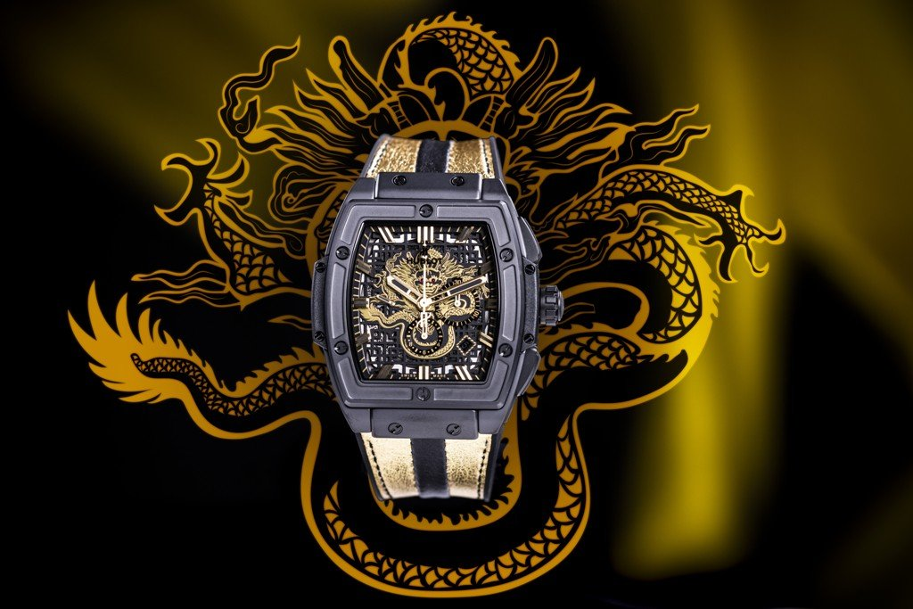 Spirit of Big Bang for Bruce Lee-dragon2