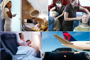 airlines collage