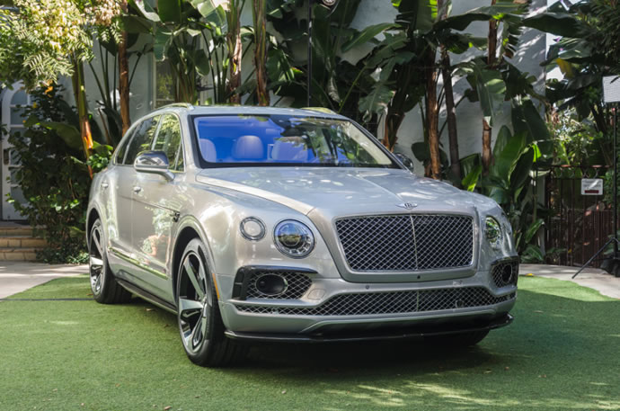 The ultra exclusive Bentley Bentayga first edition makes it debut -