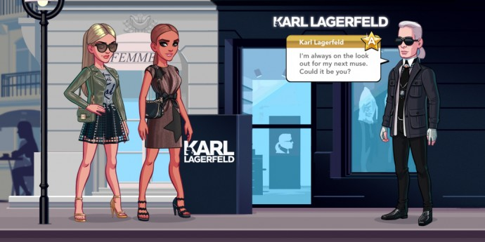 Screenshot from the Kim Kardashian Hollywood app.