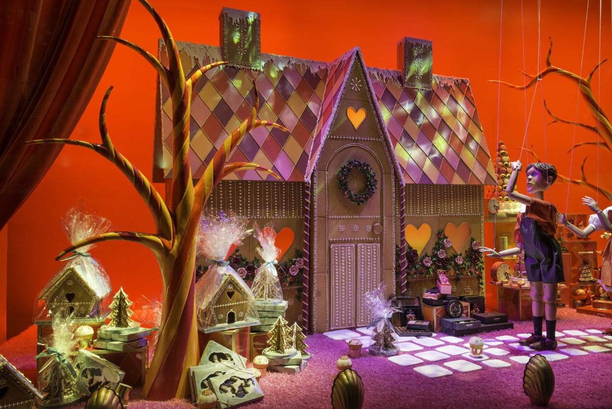 Harrods Unveils Fairytale Inspired Christmas Display Windows
