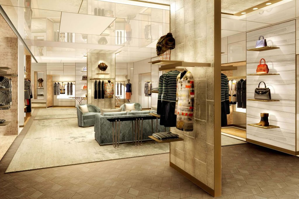 Palazzo fendi set to unveil the brand s first boutique for Design boutique hotel rome