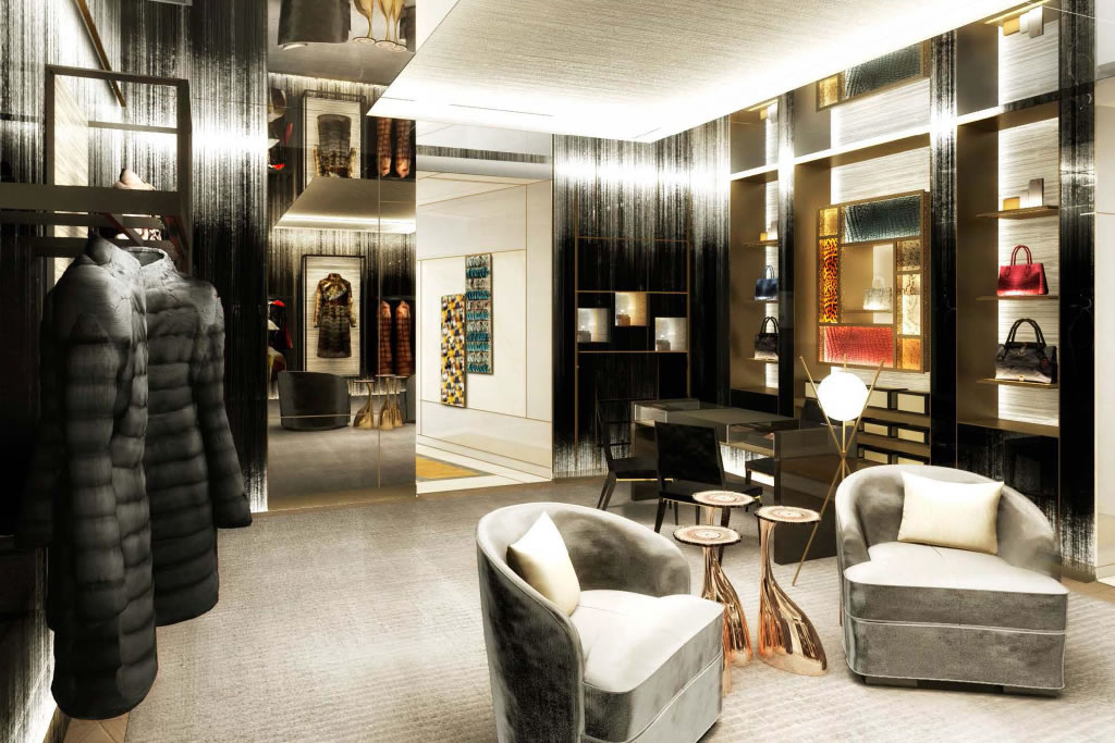 Palazzo fendi set to unveil the brand s first boutique for Best boutique hotel brands