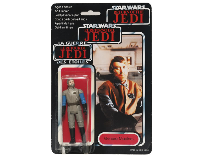 STAR WARS 'TRI-LOGO' GENERAL MADINE ACTION FIGURE, 1983