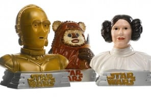 THREE STAR WARS COOKIE JARS, STAR LIMITED, 1997