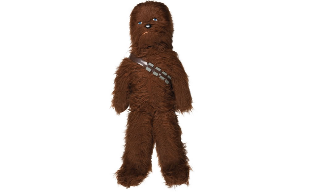 CANADIAN STAR WARS CHEWBACCA 42-INCH PLUSH STORE DISPLAY, 1978