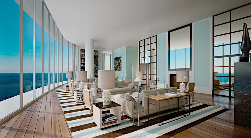 Penthouses with stunning views and private pools at the Ritz