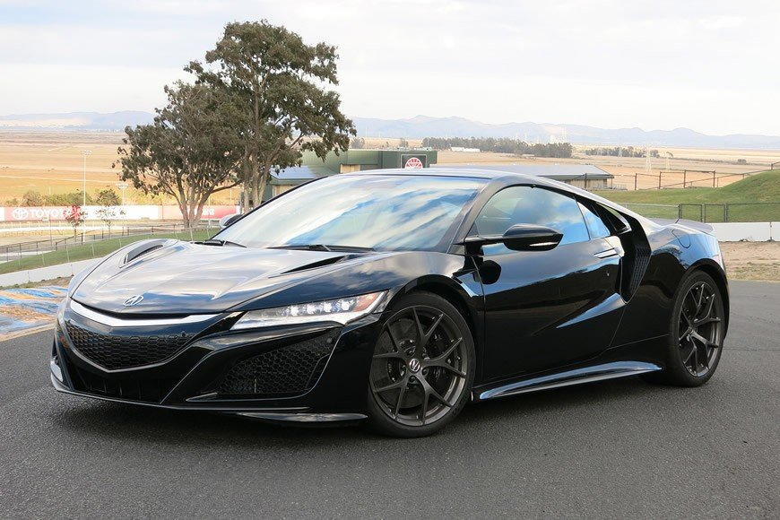The revolutionary 2017 Acura NSX to hit American streets with a ...