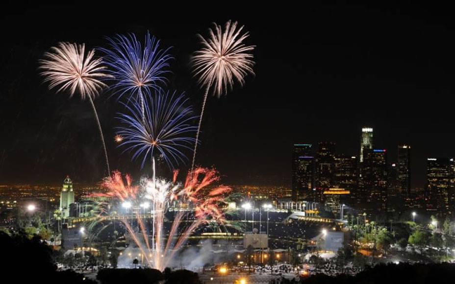New Years Eve Fireworks Los Angeles