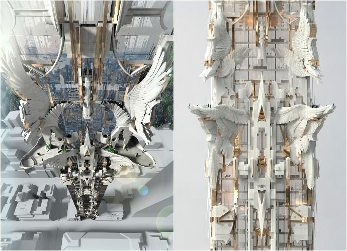 41-West-57th-Street_Mark-Foster-Gage-Architects_New-York-City_Gothic_skyscraper_102-storey_dezeen_936_0