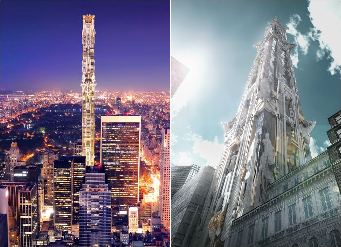 41-West-57th-Street_Mark-Foster-Gage-Architects_New-York-City_Gothic_skyscraper_102-storey_dezeen_936_1