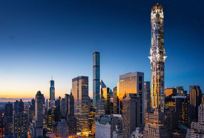 41-West-57th-Street_Mark-Foster-Gage-Architects_New-York-City_Gothic_skyscraper_102-storey_dezeen_936_2