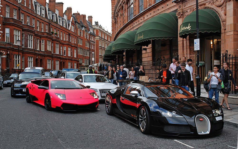 London authorities to fine brash and boisterous supercar drivers with a $1500 fine : Luxurylaunches