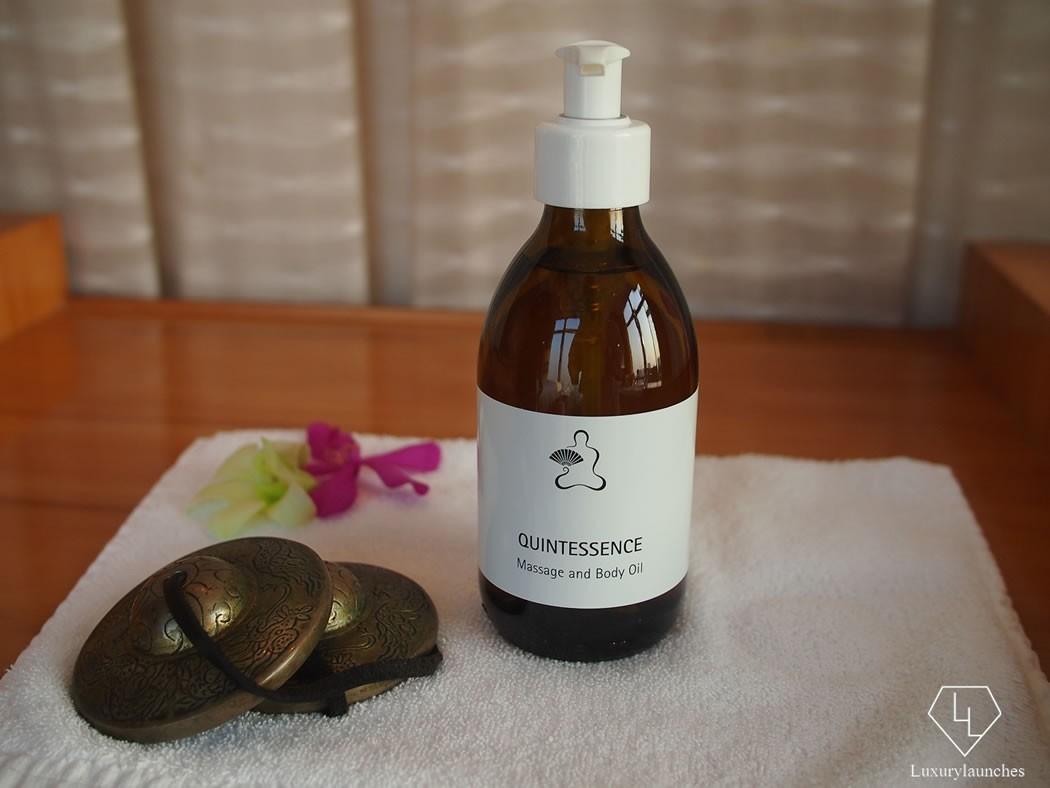 Mandarin Oriental's Quintessence Massage Oil