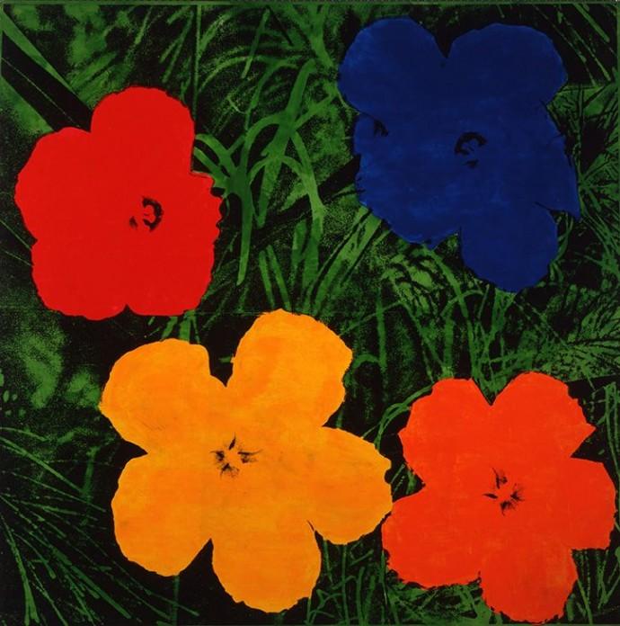 Andy-Warhol-Flowers-1964