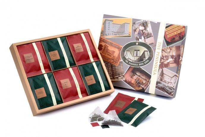 Assorted Fine Teas 半島特色名茶禮盒 - HK$ 240